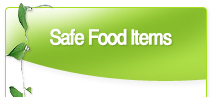Safe Food Items